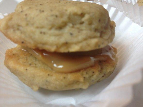 Mocha Shortbread Cookie With Dulce De Leche