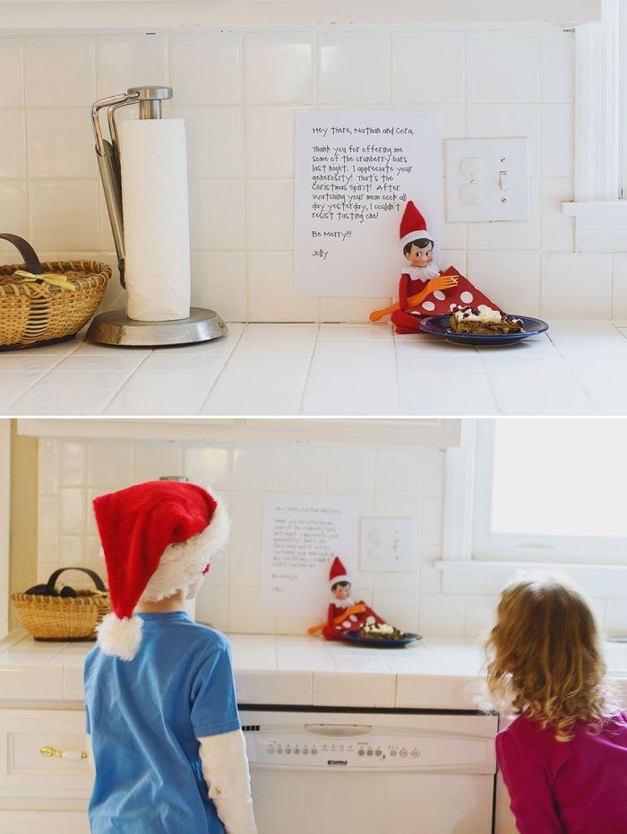 Elf on the Shelf Ideas | Elf on the shelf.... cute ideas | Pinterest