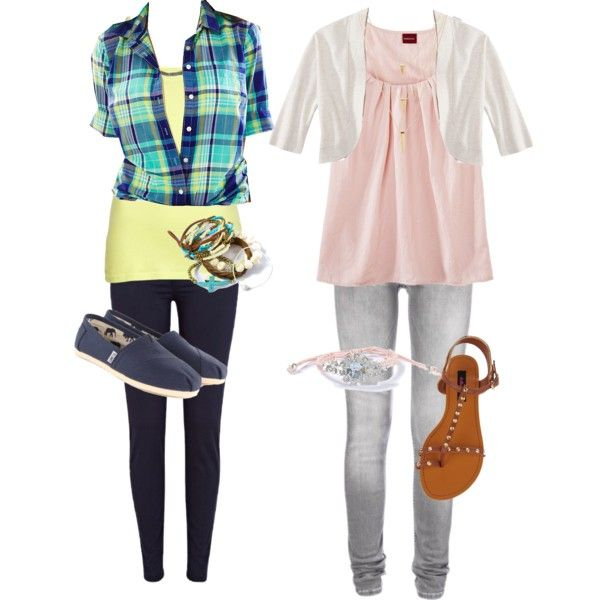 Idea for freshman's first day of high school. Maybe capris instead of ...
