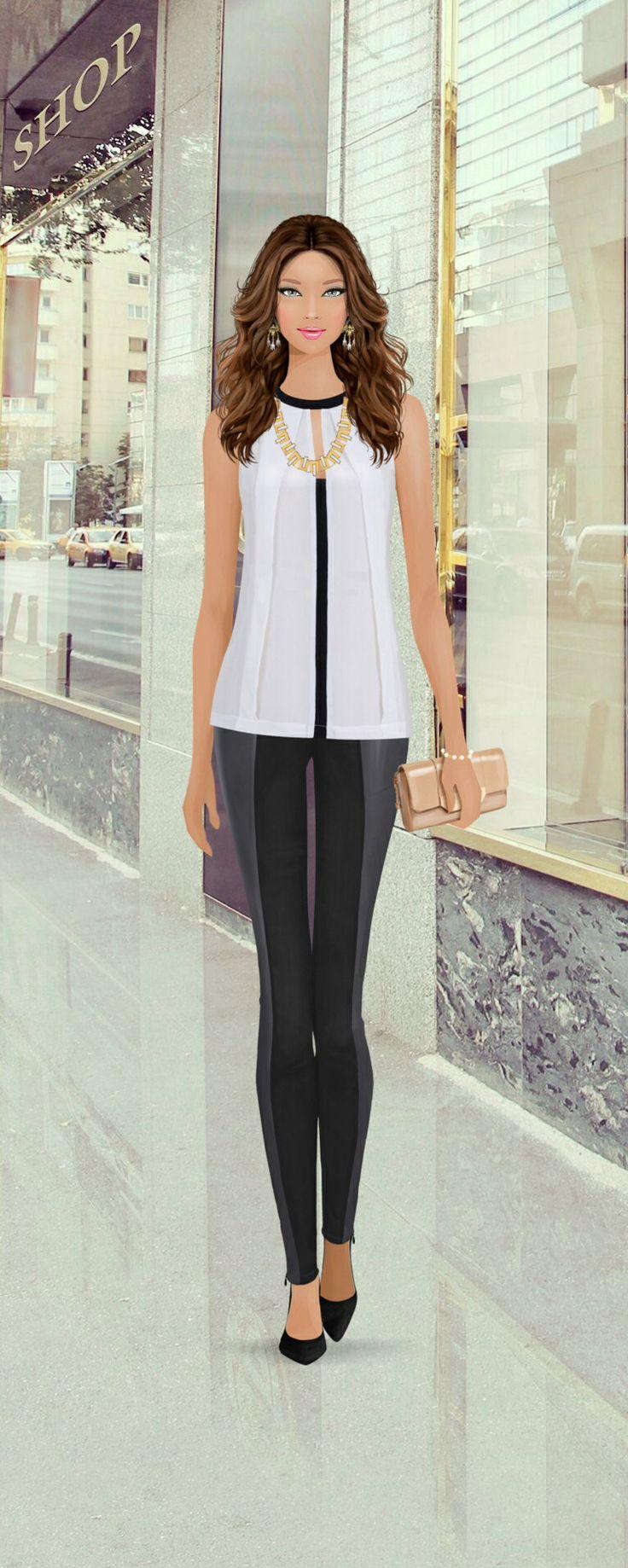 Rambla De Catalunya Street Shopping Covet Fashion Game Pinterest