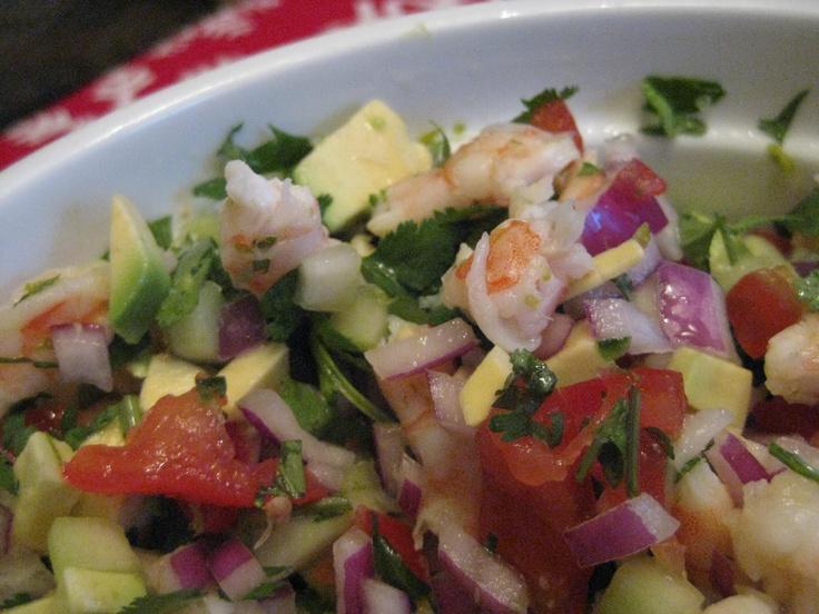 Shrimp Ceviche #paleo | Paleo / Primal Potluck | Pinterest