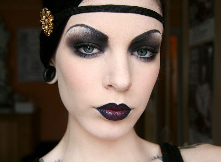 Roaring 20s Flapper Makeup Twenties Tutorial For