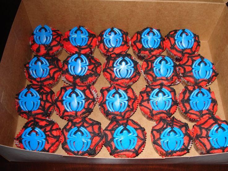 Spiderman cupcake cake walmart