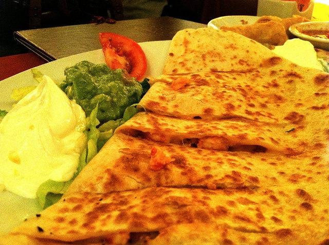 Half-priced Lobster Quesadilla at Casa Vega during happy hour!