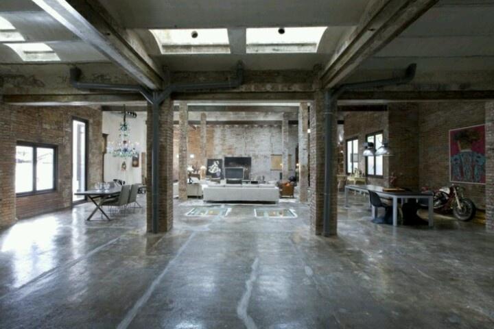Industrial Loft Apartment Inspiring Interiors Pinterest