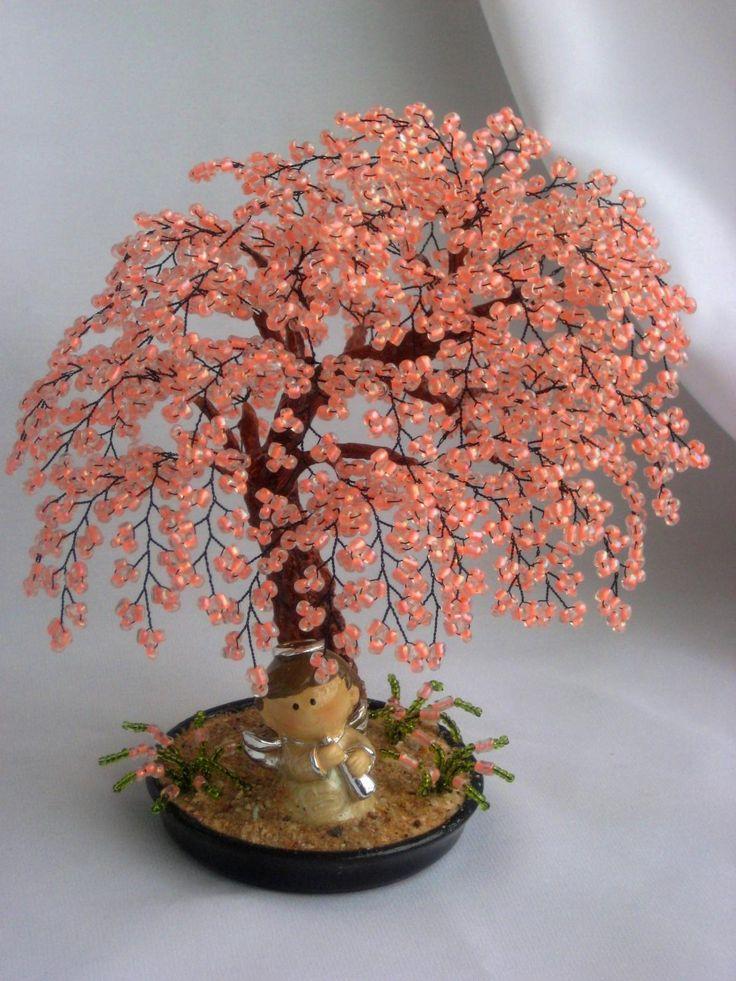 Деревья с бисера своими руками идеи