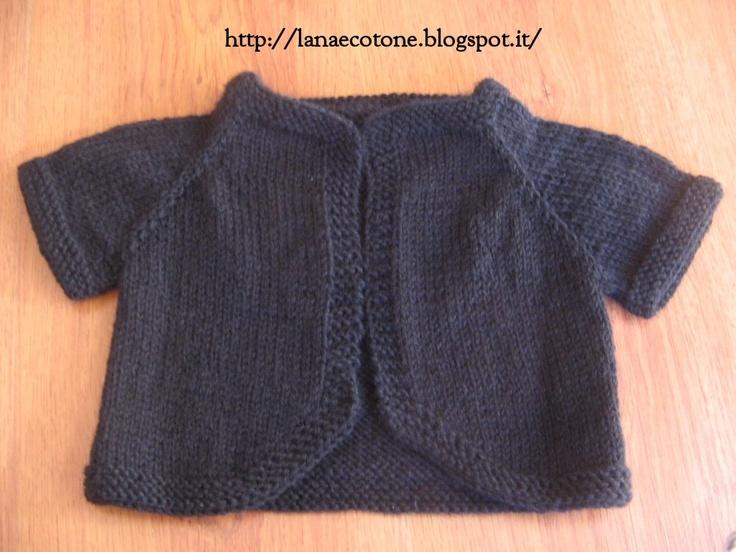 Lana e Cotone (maglia e uncinetto): Basco a spicchi e cardigan top-down