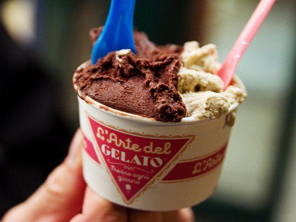 no further than L'Arte del Gelato, the Frozen Custard of NYC's gelato...