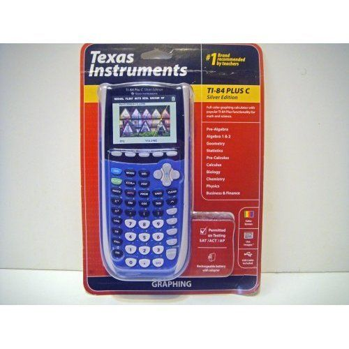 Calculator ti 84 blue