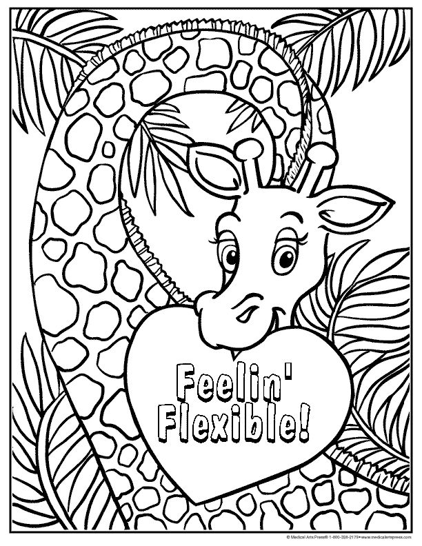 chiropractor coloring pages - photo#32