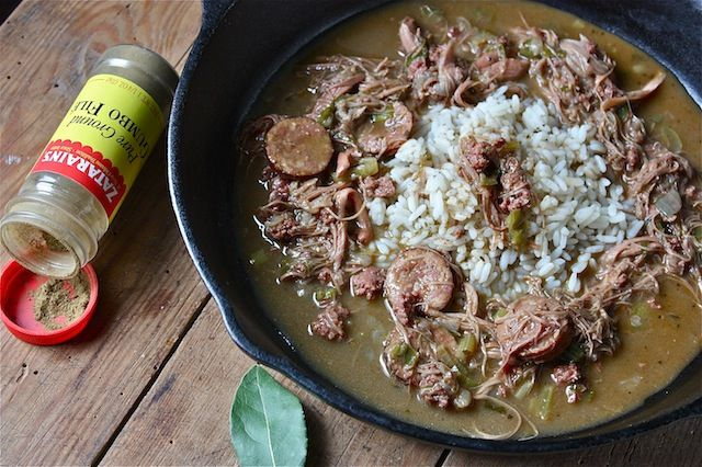 Super Bowl Sunday Seafood Gumbo Recipe — Dishmaps