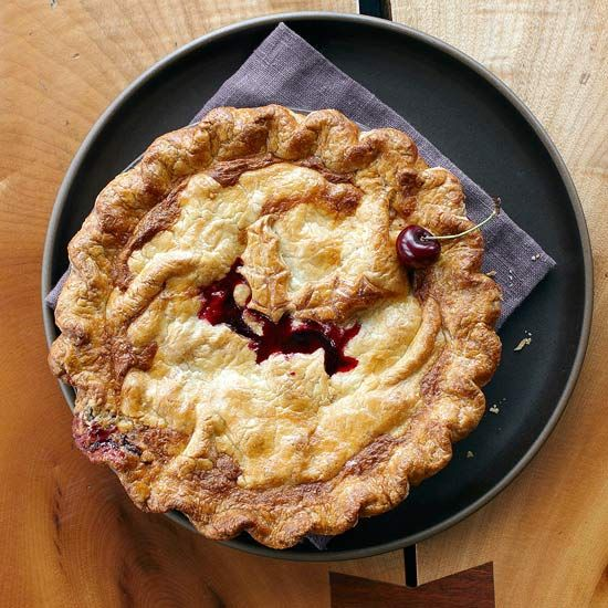 sweet almond and vanilla flavors in this Sour Cherry Pie. More cherry ...