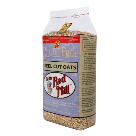 Gluten Free Steel Cut Oats from Bob's Red Mill Natural Foods; my usual ...