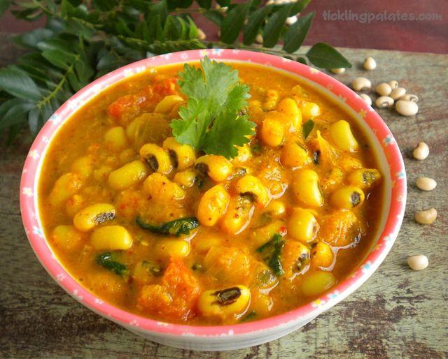 Black Eyed Peas Curry | Vegan | Pinterest