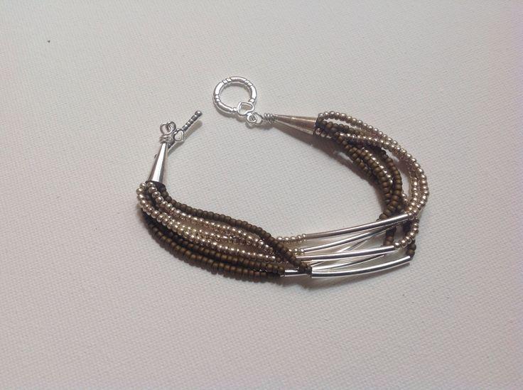 Already stacked bracelet | Jewelry - Beaded & Braided | Pinterest