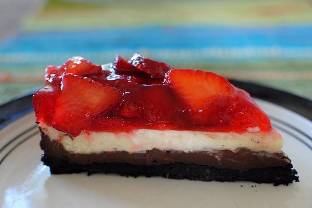 Chocolate Strawberry Cheesecake | Yumminess | Pinterest