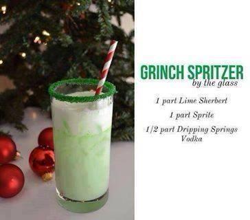 Grinch spritzer food pinterest
