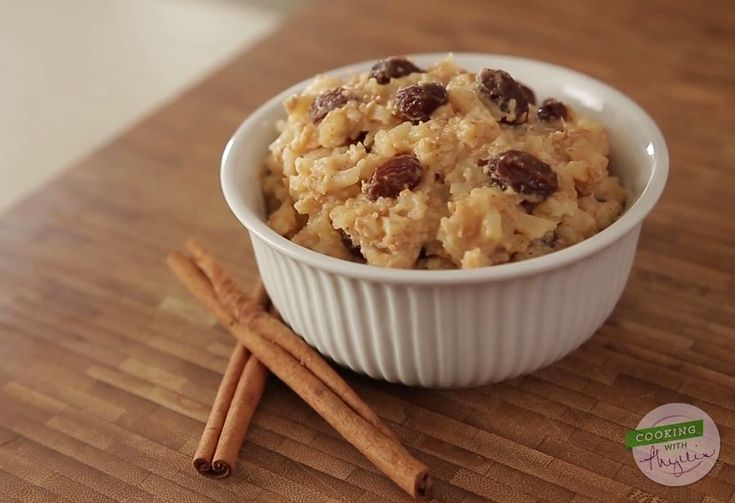 Cooking with Phyllis- Vanilla Bean Rice Pudding- Video oh yummy ...