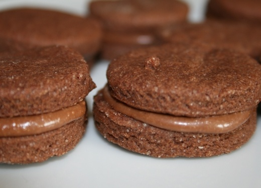 Dairy Free Chocolate Shortbread sandwiches Recipe : Cook Vegetarian ...