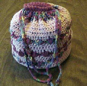 Soft Round Bag pdf Bag Patterns (Crochet) Pinterest