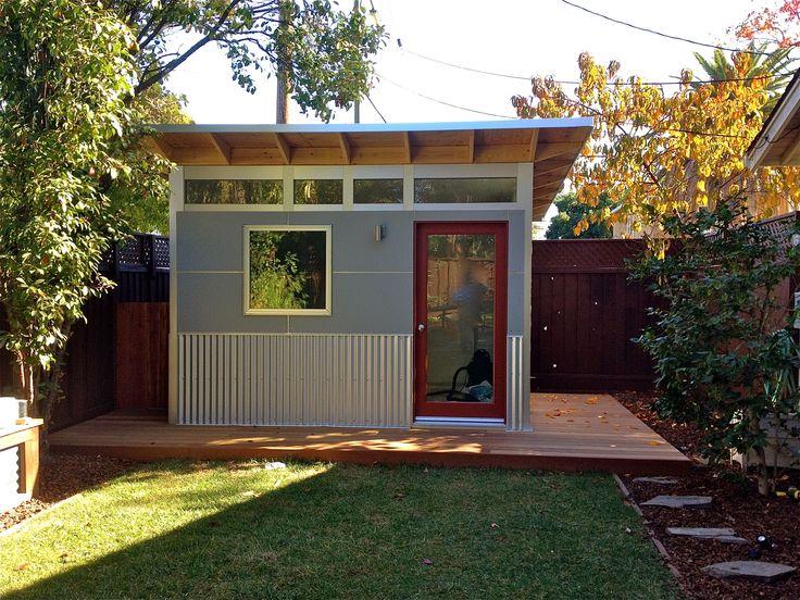 Backyard Gym Shed :  shed  home office  backyard ideas  shed ideas  studio ideas  art