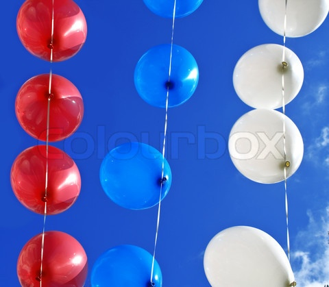 String of balloons for decorations party ideas pinterest for Balloon string decorations