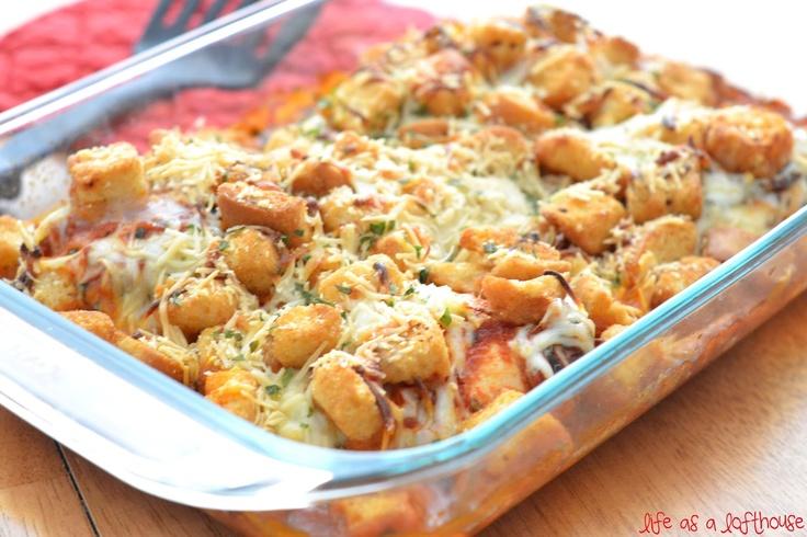Chicken Parmesan Casserole   Casseroles   Pinterest