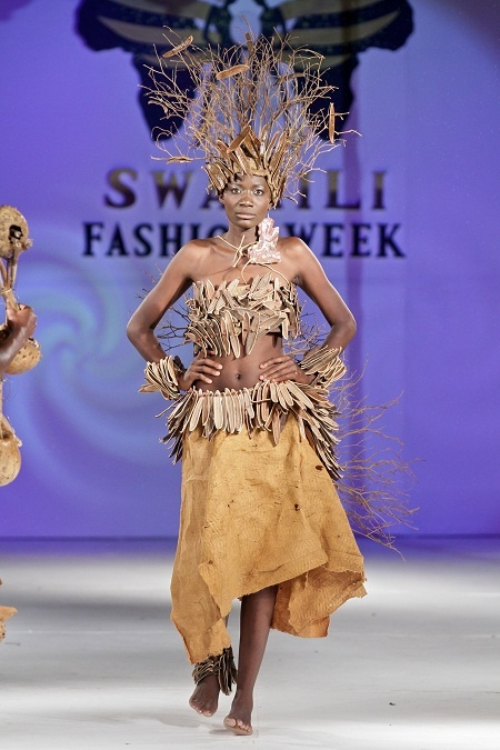 Christine Masese from Kenya at Swahili Fashion Week