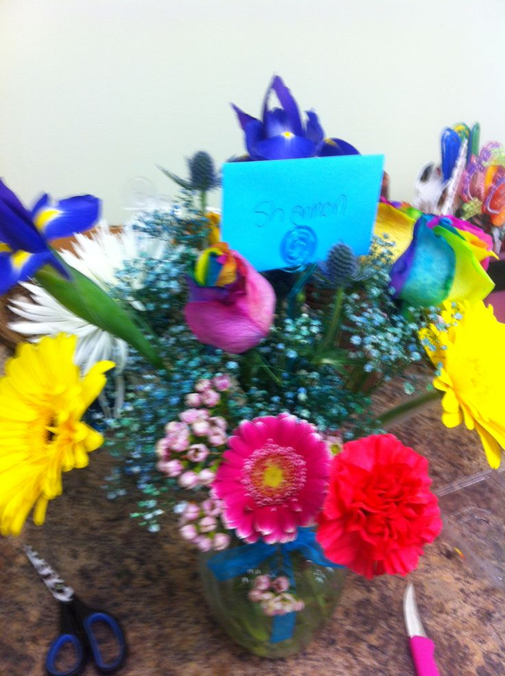 Happy Birthday friend   Fleurs Magiques Flowers   Pinterest