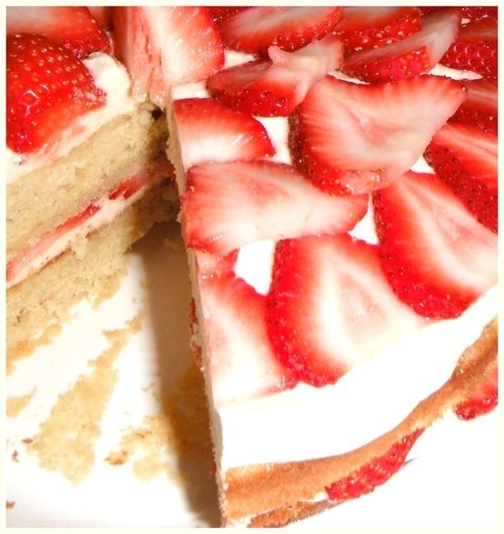 Gluten-Free Strawberry Cake | Gluten-Free Sweetness | Pinterest