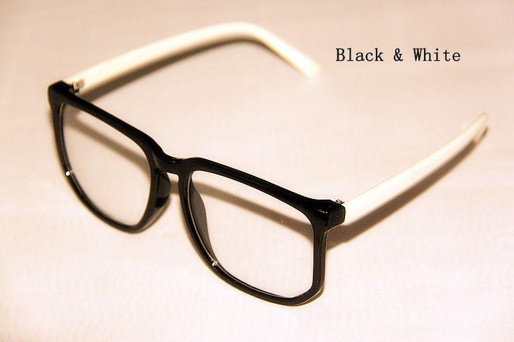 Big Frame Glasses Trend : New Fashion Big Frame Clear Lens Vintage Polite Trends ...