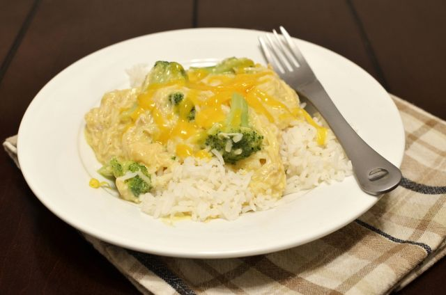 Crockpot Chicken and Broccoli over rice - This was delicious! The only ...