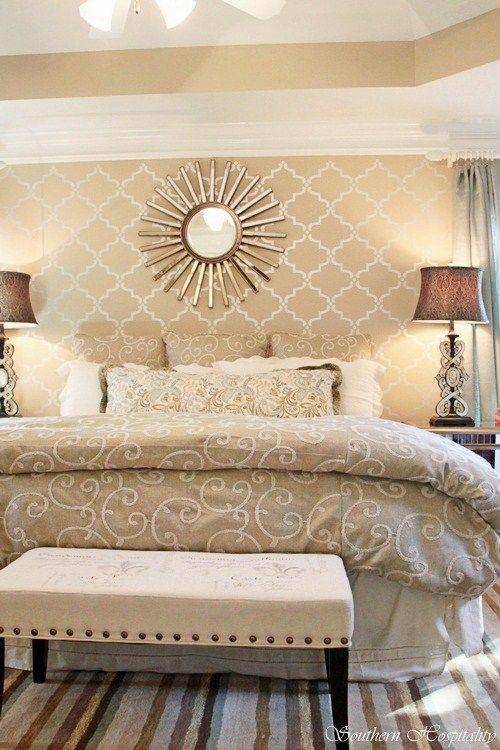 Master bedroom paint color - Windsor Greige by Sherwin Williams