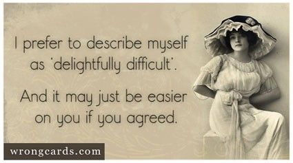 delightfully difficult.