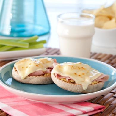 Thomas' Ham and Cheese Muffin Melts | Healthy Choices | Pinterest