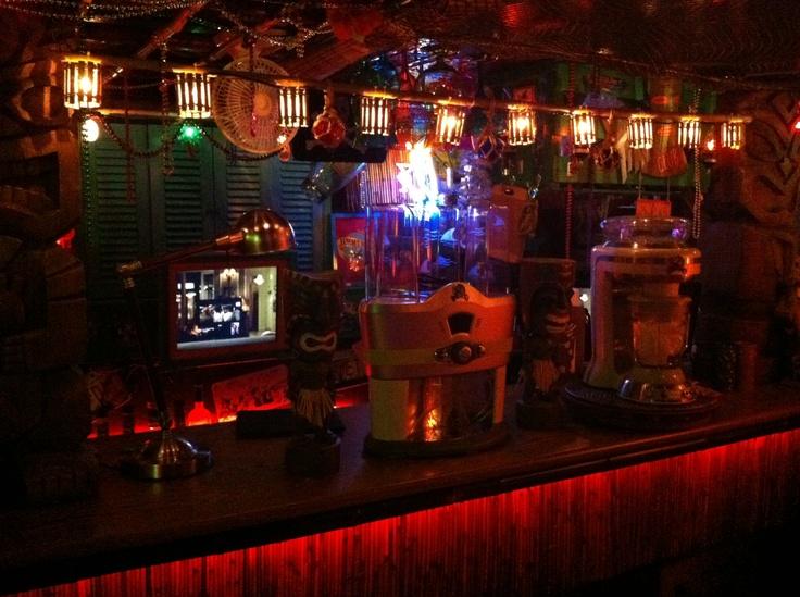 String Lights For Tiki Bar : Pin by Robert Giudice on The Tikitastic Lounge Tiki Bar Pinterest