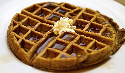 ... gingerbread waffles with vanilla bean orange butter gingerbread