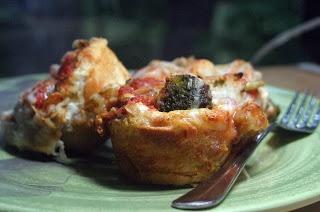 Broccoli Four Cheese Lasagna Cups {Vegetarian}: Secret Recipe Club ...