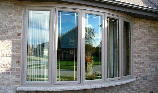 Modern bay or bow window design dise o pinterest for New windows for your home