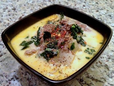 Alosha's Kitchen: Italian Sausage, Potato and Kale Soup