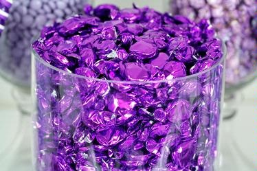 Purple fruit flasher (pomegranate flavor) for candy table $4.99 per ...