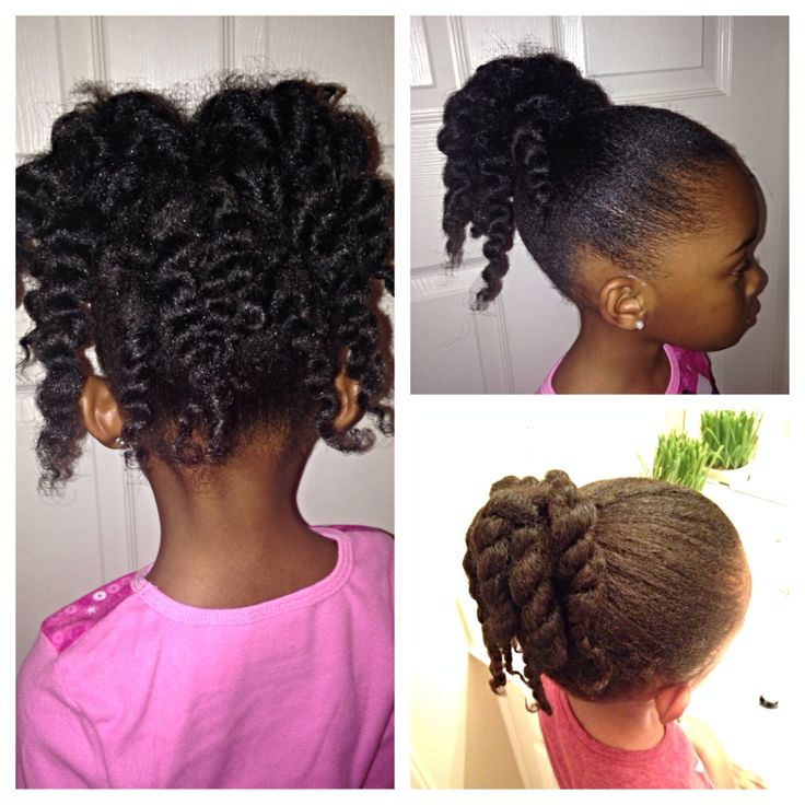 natural twists hairstyles : ... and picture on left Easy hairstyles Natural hairstyles for kids