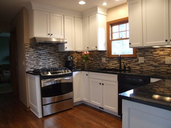 cabinets and back splash for the home pinterest