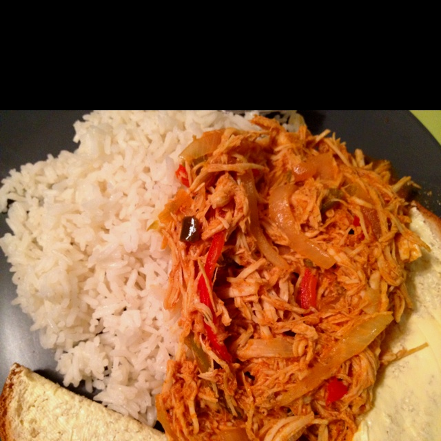 Chicken ropa vieja. Yet another healthy twist on traditional Cuban ...