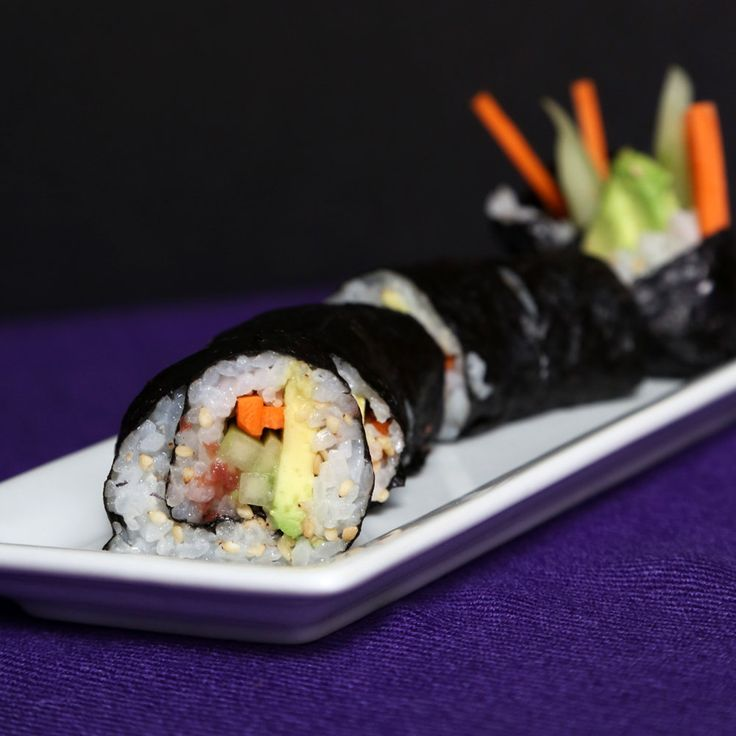 Vegetable Sushi Roll With 2 Secret Ingredients