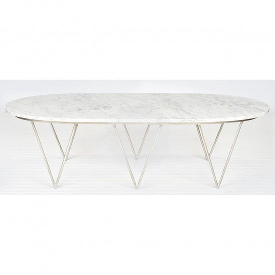 Oval Coffee Table We Need A Bigger Place And Things To Put I
