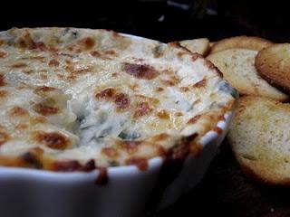 Roasted garlic dip....sounds yummy!