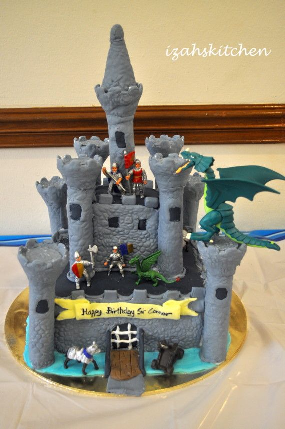 How To Make A Medieval Castle Cake