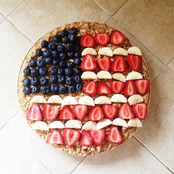 fourth of july cake pie