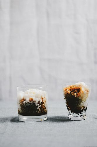 Thai vietnamese coffee granita | Drink Me | Pinterest